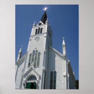 La iglesia católica de St Anne Póster