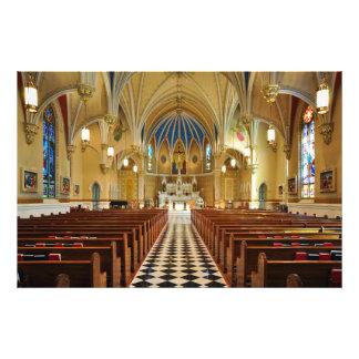 La iglesia católica Roanoke Virginia de St Andrew Fotografía