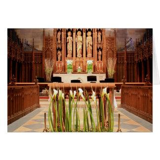 La iglesia Chestnut Hill Pascua de San Pablo Tarjetas