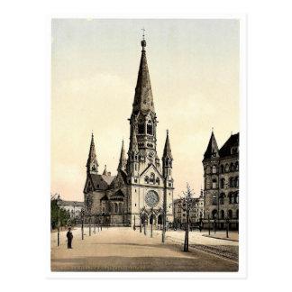 La iglesia conmemorativa de Wilhelm del emperador, Postal