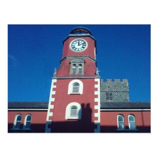 La iglesia de Clockhouse y de St Mary Tarjeta Postal