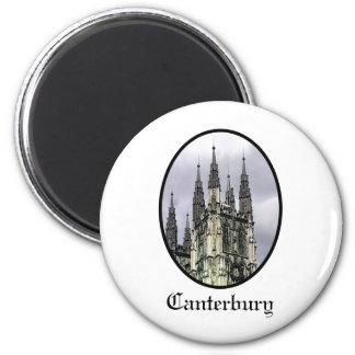 La iglesia de Inglaterra Cantorbery tuerce en Imán Redondo 5 Cm