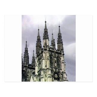 La iglesia de Inglaterra Cantorbery tuerce en Tarjeta Postal