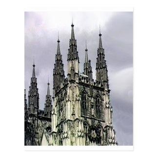 La iglesia de Inglaterra Cantorbery tuerce en Postales