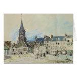 La iglesia de Sainte-Catherine, Honfleur, 1864 Tarjeta De Felicitación