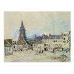 La iglesia de Sainte-Catherine, Honfleur, 1864 Postales