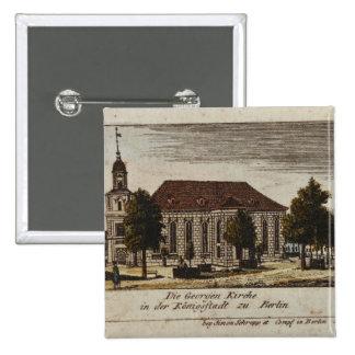 La iglesia de San Jorge en Konigsstadt, Pin Cuadrado
