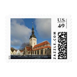 La iglesia de San Nicolás, Tallinn, Estonia Envio