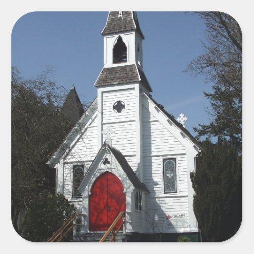 La iglesia de San Pablo Pegatina Cuadrada