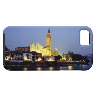La iglesia de Sant'Anastasia en Verona, Italia iPhone 5 Case-Mate Cárcasa
