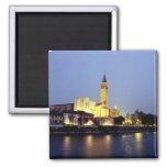 La iglesia de Sant'Anastasia en Verona, Italia Imanes Para Frigoríficos
