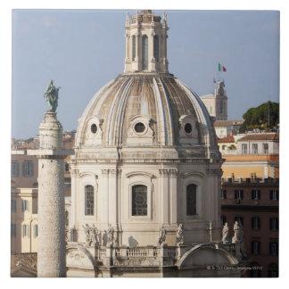 La iglesia de Santissimo Nome di Maria y Azulejo Cuadrado Grande