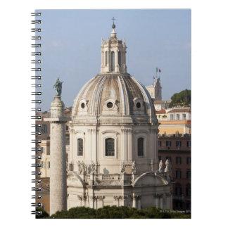 La iglesia de Santissimo Nome di Maria y Cuadernos
