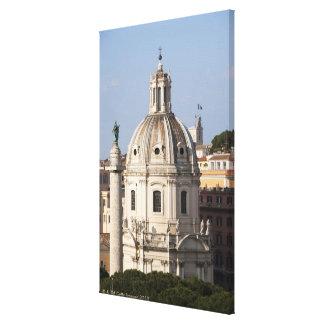 La iglesia de Santissimo Nome di Maria y Impresión En Lona Estirada