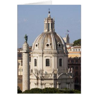 La iglesia de Santissimo Nome di Maria y Tarjeta De Felicitación