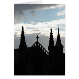 La iglesia de St Mary Tarjeta De Felicitación