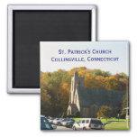 La iglesia de St Patrick en Collinsville Iman Para Frigorífico
