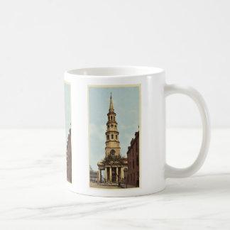 La iglesia de St Philip, Charleston, obra clásica Taza