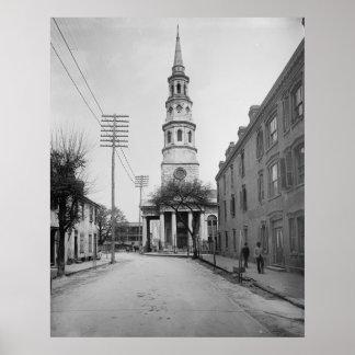 La iglesia de St Philip Posters