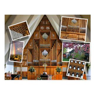 La iglesia de St Stephen, Seattle, montaje Tarjetas Postales
