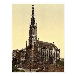 La iglesia de Unterstrasse Zurich Suiza VI Tarjetas Postales
