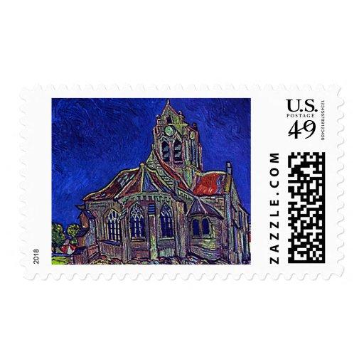 La iglesia de Vincent van Gogh 'de Auvers Sellos