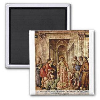 La iglesia del St Lorenzo distribuye la riqueza Imanes