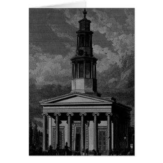 La iglesia del St. Pancrass, al oeste afronta Tarjeta De Felicitación