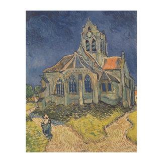 La iglesia en el Auvers-sur-Oise Impresiones En Madera