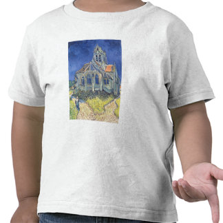 La iglesia en el Auvers-sur-Oise Camisetas