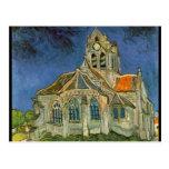 La iglesia en el Auvers-sur-Oise - Vincent van Gog Postales