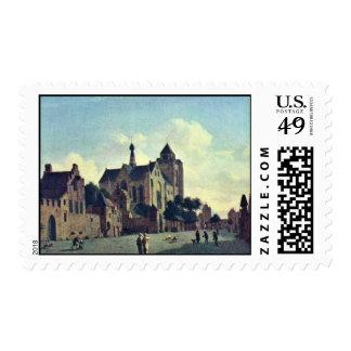La iglesia en Veere., en enero Van Der Heyden (Bes Franqueo