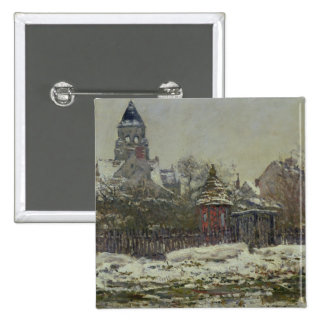 La iglesia en Vetheuil, 1879 Pins