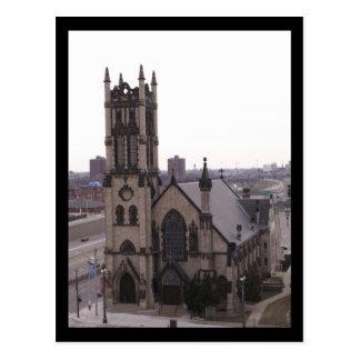 La iglesia episcopal de San Juan, postal de Detroi