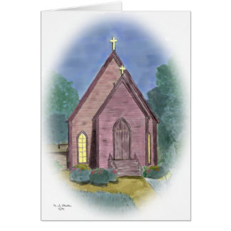 La iglesia episcopal de St Stephen - tarjeta