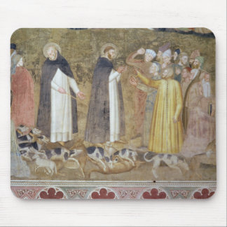 La iglesia militante y triunfante, detalle del alfombrilla de ratón