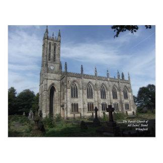 La iglesia parroquial del soporte de todos los postales