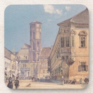 La iglesia parroquial en Ofen de Rudolf von Alt Posavaso
