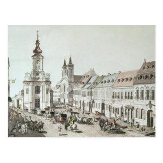 La iglesia parroquial y el cementerio de Fauxbourg Postales