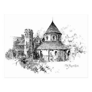 La iglesia redonda postal