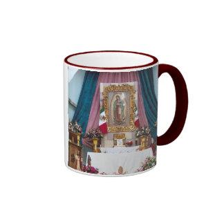 La Iglesia Sta. Maria Del Oro Jalisco Ringer Mug