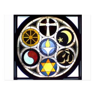 La iglesia universalista unitaria ROCKFORD IL Tarjeta Postal