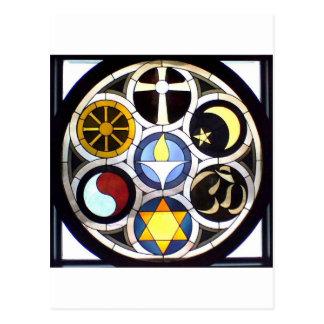 La iglesia universalista unitaria ROCKFORD, IL Tarjetas Postales