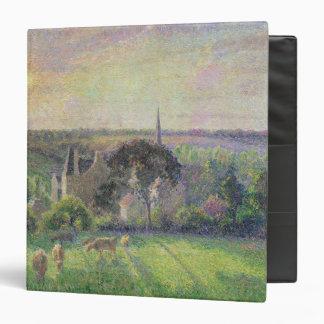 """La iglesia y la granja de Eragny, 1895 Carpeta 1 1/2"""""""