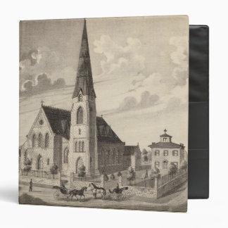 "La iglesia y la residencia parroquial de San Pedro Carpeta 1 1/2"""