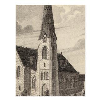 La iglesia y la residencia parroquial de San Pedro Postal