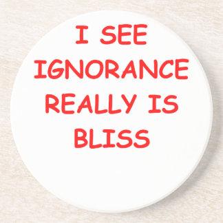 la ignorancia es dicha posavasos para bebidas
