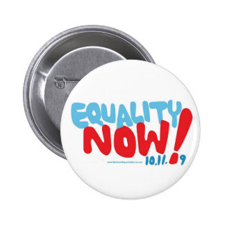 La igualdad AHORA abotona Pin