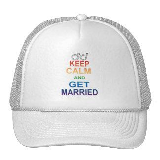 La igualdad del matrimonio homosexual mantiene al  gorras