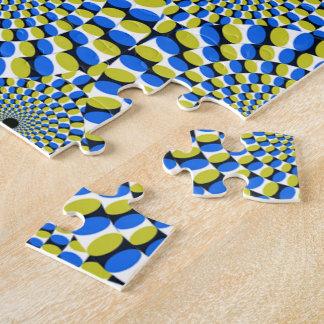 La ilusión óptica circunda la novedad puzzles con fotos